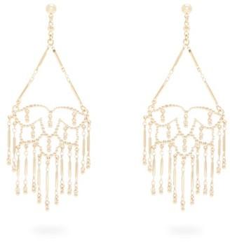 Etro Hanging Lotus Earrings - Silver