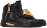 Versace Black Medusa High-Top Sneakers