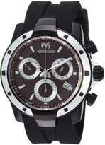 Technomarine Men's 'UF6' Quartz Stainless Steel and Silicone Casual Watch, Color: (Model: TM-615007)