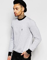 Religion Knitted Jumper With Contrast Trim