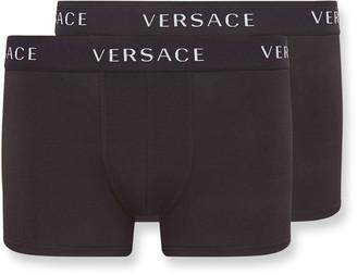 Versace Men's 2-Pack Long Boxer Briefs