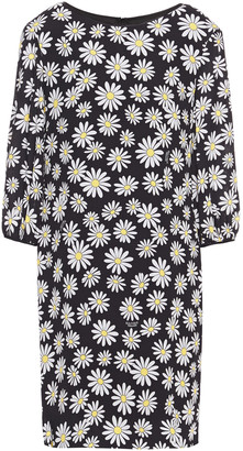 Boutique Moschino Floral-print Crepe Dress