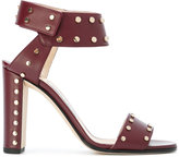 Jimmy Choo studded Veto sandals - women - Calf Leather/Leather - 36