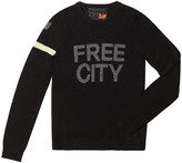Freecity Free City Cashmere Crew in Black, X-Small
