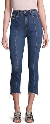 Paige Jacqueline High-Rise Step Hem Jeans