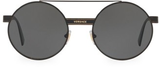 Versace Rock Icons 52MM Round Sunglasses
