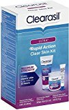 Clearasil Ultra Rapid Action Clear Skin Kit 1 ea (6 Pack)