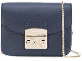 Furla foldover satchel bag - women - Leather - One Size