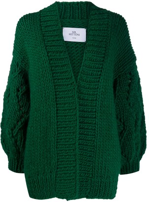 Mr. Mittens Chunky Lace Cardigan