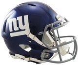 NFL New York Giants Riddell Speed Authentic Helmet - Navy