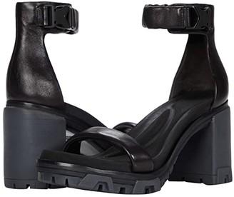 Rag & Bone Shane High Sandal (Black) Women's Shoes