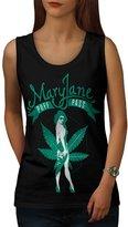 Mary Jane Puff Pass Weed Smoke Women NEW XL Tank Top | Wellcoda