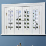 JCPenney HomeTM Traditional Wood Interior Shutters - 4 Panels