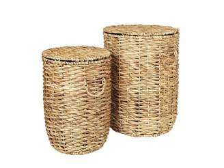 Broste Copenhagen Kamilla Sea Grass Basket Set Of 2