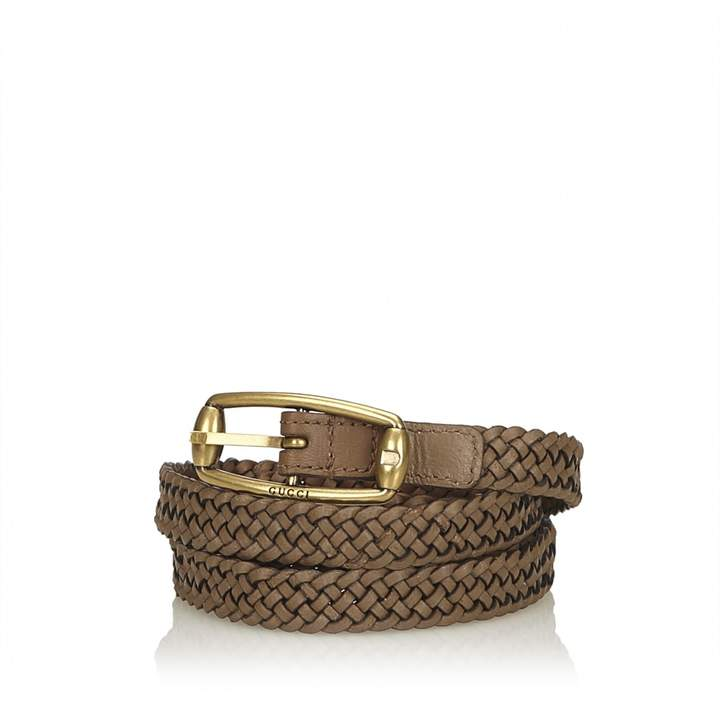 Gucci Brown Leather Belts