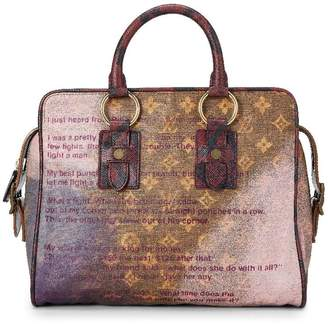 Louis Vuitton Richard Prince x Purple Monogram Graduate Jokes Bag
