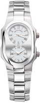 Philip Stein Teslar Women&s Stainless Steel Dual Time Watch
