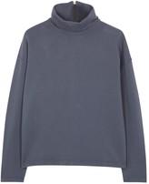 Blood Brother Seismo Funnel-neck Cotton Sweatshirt
