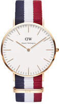 Daniel Wellington 40mm Cambridge Rose Gold