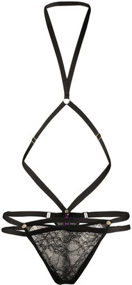 Maison Close Removable Harness Thong