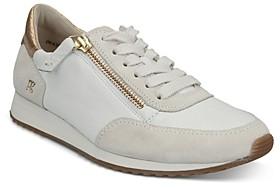 Paul Green Women's Dixie Lace Up Zipper Sneakers