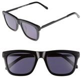 Karen Walker Women's X Monumental Voltaire 51Mm Polarized Sunglasses - Black