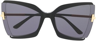 Tom Ford Gia butterfly-frame sunglasses