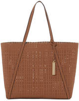 Vince Camuto Anja Perforated Leather Tote Bag