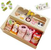 Luckystaryuan Lucky staryuan ® 5Pairs Baby Non-slip Sock Cotton Socks