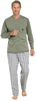 Otto Kern Underwear Men's Pyjama v-Neck Set