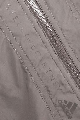adidas by Stella McCartney Ruched Shell Bomber Jacket
