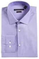 John Varvatos Soho Slim Fit Stretch Stripe Dress Shirt