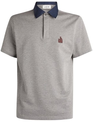 Lanvin Logo Polo Shirt