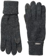 Steve Madden Solid Boyfriend Gloves Extreme Cold Weather Gloves