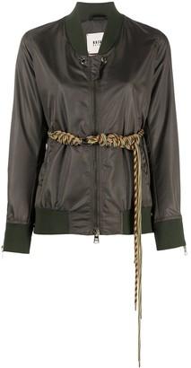 Bazar Deluxe Belted Bomber Jacket