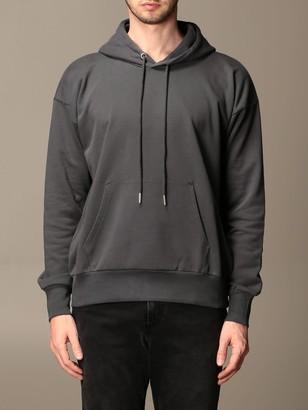 Diesel Sweatshirt Sweatshirt In Cotton With Drawstring