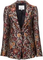 3.1 Phillip Lim floral cloqué blazer - women - Silk/Polyamide/Polyester - 4