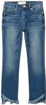 Habitual Kids Skye Raw Hem Baby Flare Jeans (Big Girls)