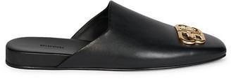 Balenciaga Cosy BB Leather Mules