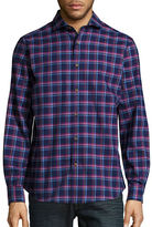 Black Brown 1826 Checked Button Front Sportshirt