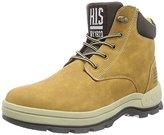 H.I.S Men's 14MC0202a Short Boots Brown Size: 11