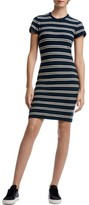James Perse Women's Vintage Stripe T-Shirt Dress
