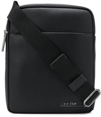 Calvin Klein Logo Lettering Messenger Bag