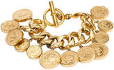 One Kings Lane Vintage Chanel 70s Chain & Coins Bracelet