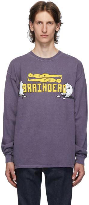Brain Dead Purple Hatchlings T-Shirt