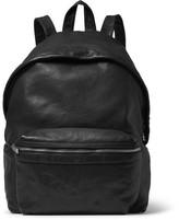 Saint Laurent Washed-Leather Backpack