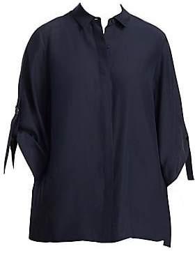 Lafayette 148 New York Lafayette 148 New York, Plus Size Women's Jeslyn Silk-Blend Blouse