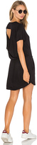 Chaser Drape Back Pocket Mini Dress