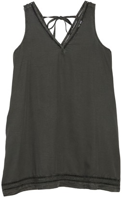 Susina V-Neck Tencel Dress (Plus Size)
