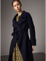 Burberry Double-faced Wool Cashmere Wrap Coat
